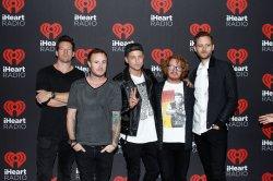 OneRepublic arrives for the iHeartRadio Music Festival