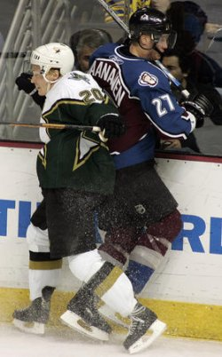 DALLAS STARS VS COLORADO AVALANCHE