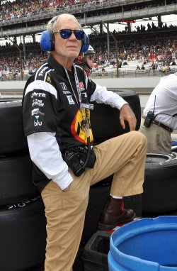 David Letterman at the Indianapolis 500