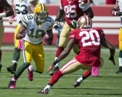 Green Bay Packers Randall Cobb goes 19 against 9ers