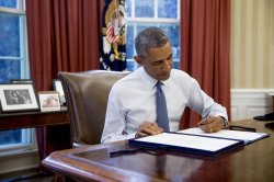 President Obama Signs Continuing Appropriations Resolution