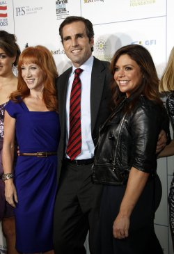 "Kathy Griffin, Bob Woodruff and Rachael Ray arrives for the ""Stand Up For Heroes"" Benefit in New York"