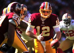 Redskins quarterback John Beck in Maryland