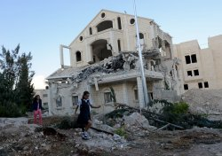 Palestinian House Demolition In Abu Dis,West Bank