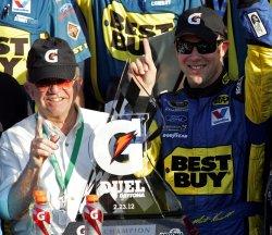 NASCAR Sprint Cup Gatorade Duel #2 at Daytona Florida