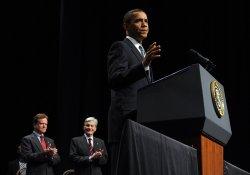 Obama discusses new GI bill in Virginia