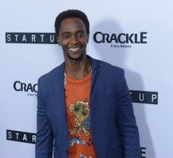 "Edi Gathegi attends Crackle's ""Startup"" premiere in West Hollywood"