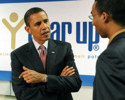 Obama visits Year Up in Virginia