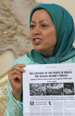 MARYAM RAJAVI INTERVIEW