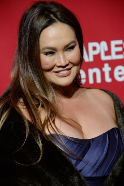 Tia Carrere attends the MusiCares Person of the Year gala in Los Angeles