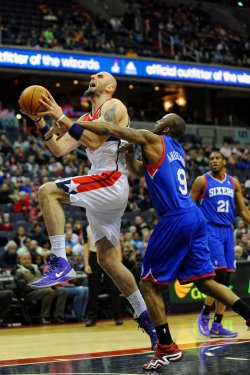 Washington Wizards vs Philadelphia 76ers in Washington