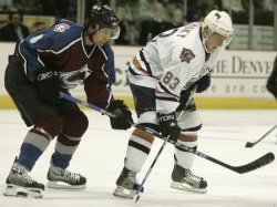EDMONTON OILERS VS COLORADO AVALANCHE