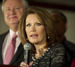 Bachmann drops out of 2012 election in Des Moines, Iowa