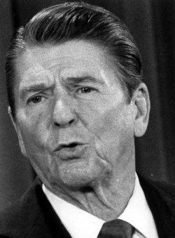 President Reagan Comments on Russia