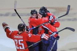 Capitals Corvo scores against Canadiens in Washington