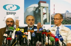 Bushehr Nuclear Power Plant is opened in Iran