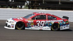 Final qualifier Ryan Newman snatches pole from Jimmie Johnson at the Indianapolis Motor Speedway