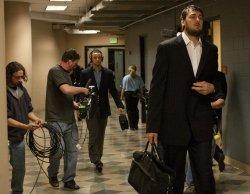 NBA First Round Playoffs Game Five Golden State Warriors vs Denver Nuggets in Denver
