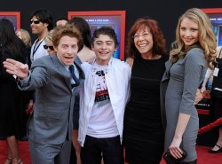 """Cast members attend the """"Mars Needs Moms"""" premiere in Los Angeles"""