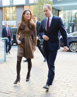 "The Duke and Duchess of Cambridge visit the ""Only Connect Projects"" in London"