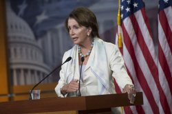 Leader Pelosi holds her weekly press conference in Wasington, D.C.
