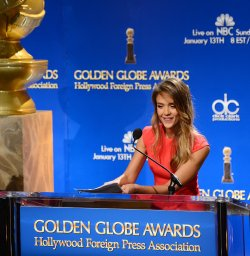 Nominations announced for the 70th annual Golden Globe Awards in Beverly Hills, California