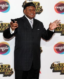 George Wallace arrives at the Soul Train Awards 2012 in Las Vegas