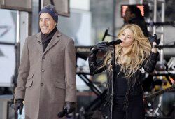Shakira performs on the NBC Today Show in New York