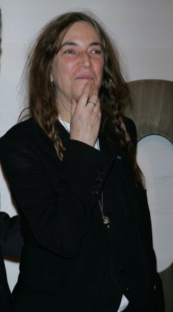 Patti Smith arrives for the Museum of Modern Art Film Benefit tribute to Kathryn Bigelow in New York