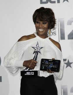 Singer Yolanda Adams wins Best Gospel award at BET Awards 12 in Los Angeles