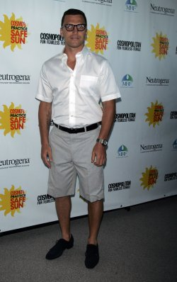 "Sean Avery arrives for the Cosmpolitan Magazine's ""Practice Safe Sun"" Awards in New York"