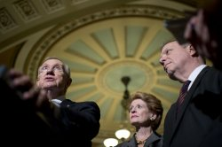 Senate Majority Leader Harry Reid in Washington