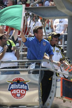 NASCAR ALLSTATE BRICKYARD 400 IN INDIANAPOLIS