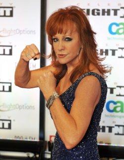 Riba McEntire arrives at Celebrity Fight Night in Arizona