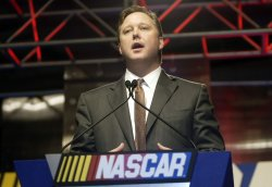 NASCAR NEXTEL CUP MEDIA TOUR IN CONCORD, NC