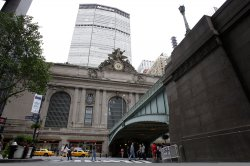 Grand Central Station closed due to Hurricane Irene in New York City