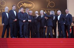 Former Palme d'or winners attend the Cannes Film Festival