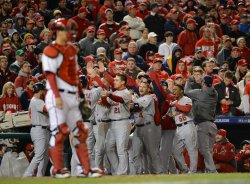 St. Louis Cardinals vs Washington Nationals in Washington Game 5 NLDS