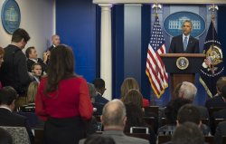 President Obama Holds His Final Press Conference in Washington