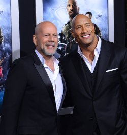 "Dwayne Johnson and attends the ""G.I Joe: Retaliation"" premiere in Los Angeles"