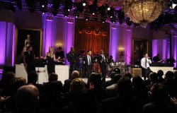 Obamas host Motown Sound performance at White House in Washington