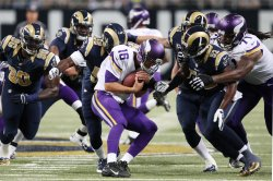 Minnesota Vikings vs St. Louis Rams