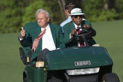 Master Golf Tournament Practice Round in Augusta, Georgia