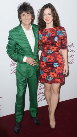 """Ronnie Wood and Sally Humpfries attend """"British Fashion Awards"""" in London"""
