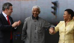 Statue Of Nelson Mandela Unveiled