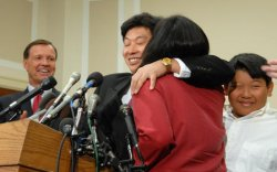 CHINESE DISSIDENT SPEAKS IN WASHINGTON AFTER RELEASE FROM CHINESE PRISON