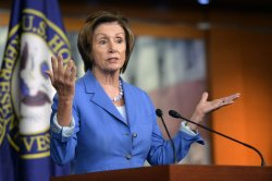 Leader Pelosi Holds a Press Conference in Washington, D.C.