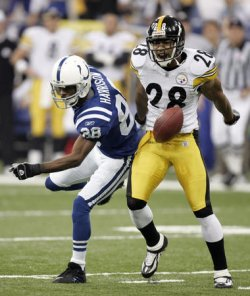 AFC PLAYOFF INDIANAPOLIS COLTS VS PITTSBURGH STEELERS