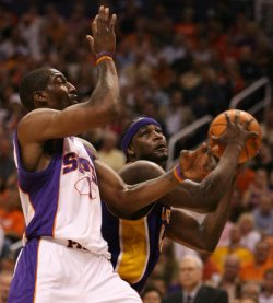 NBA PLAYOFFS LOS ANGELES LAKERS VS PHOENIX SUNS