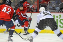 Washington Capitals vs Los Angeles Kings in Washington